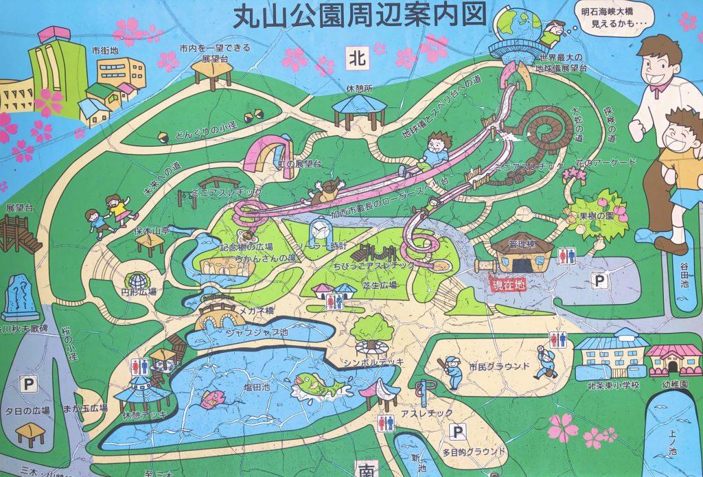 丸山総合公園マップ